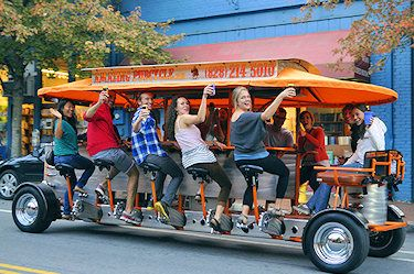 This will be the Cleydael Crew next April in Asheville NC!  We're doing the Pubcycle!