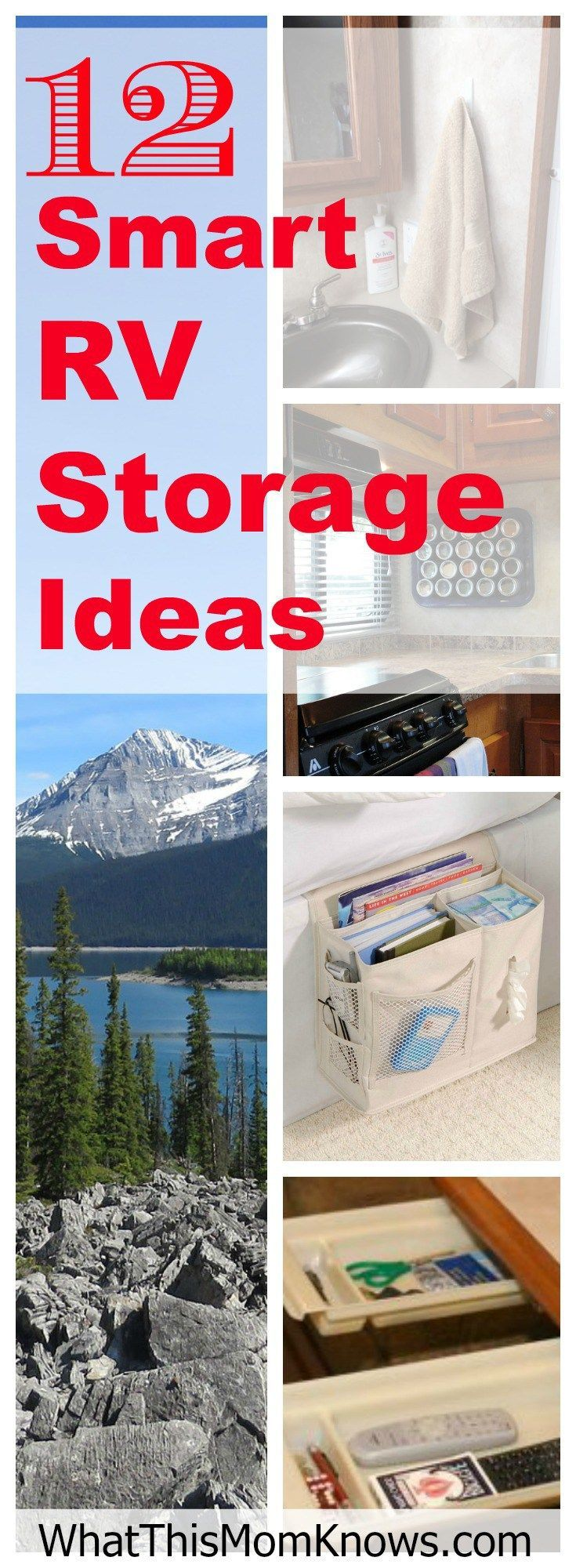 12 Smart RV and travel trailer storage and organization solutions