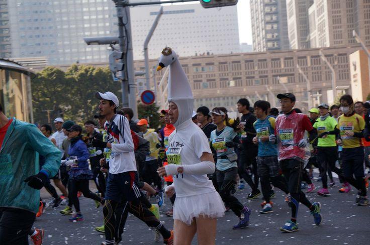 LOOK: The Eccentric Costumes Of Tokyo Marathon Runners