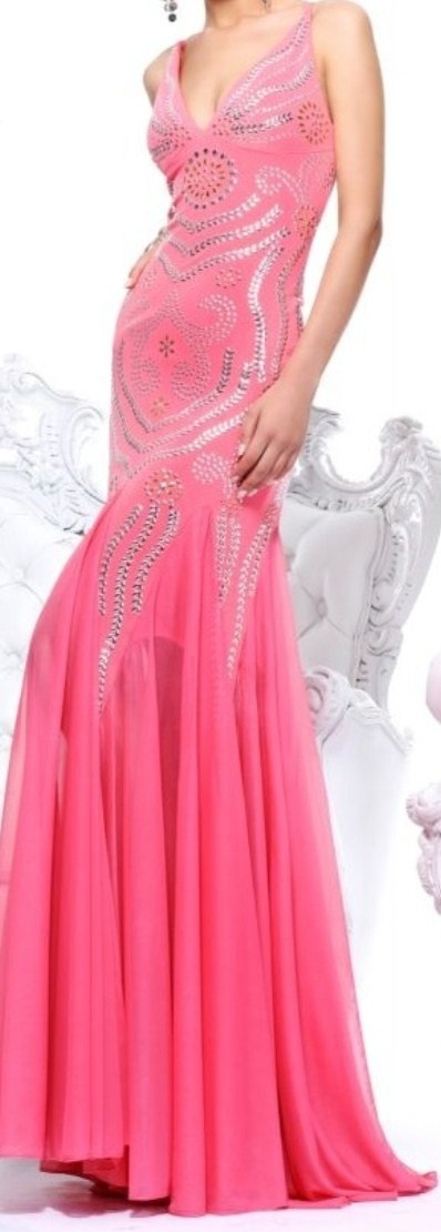 Beautiful pink gown
