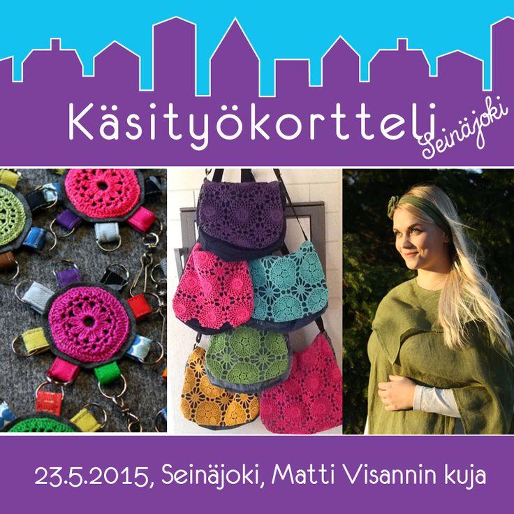 Käsityökortteli 23.5.15 Seinäjoki https://www.facebook.com/events/1418653998436534/