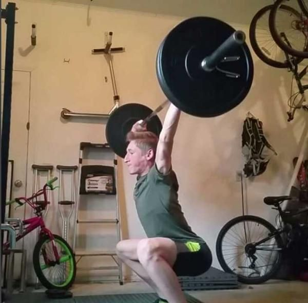 Our youngest garage gym submission, Sidney explains what motivated him to start building his gym.