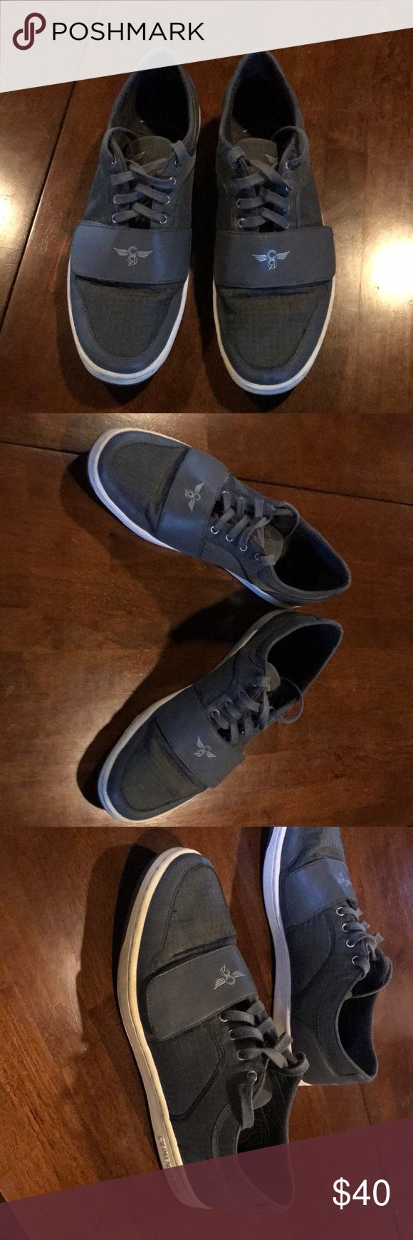Size 13 men's shoes Size 13 gray and white Creative Recreation Shoes. Worn a bit but still in great shape. Low top comfortable shoe Creative Recreation Shoes Sneakers