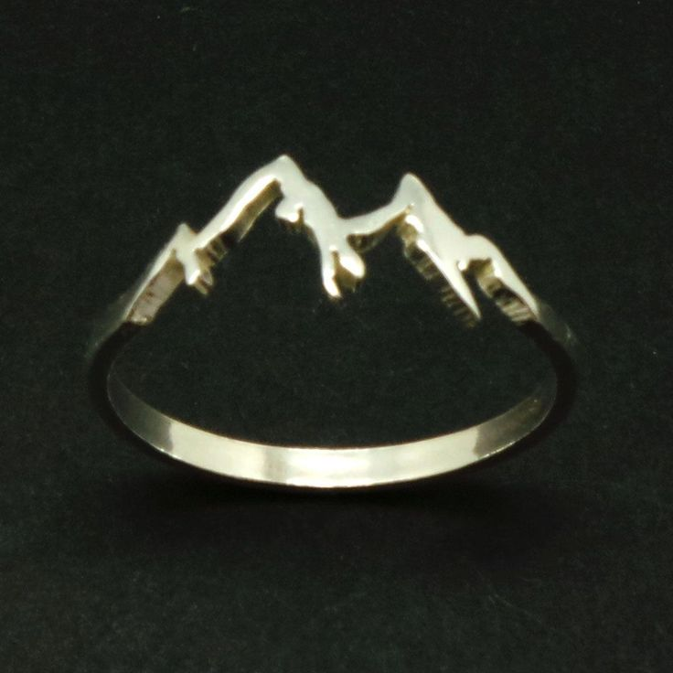 Mountain Range Ring is created in 925 Sterling Silver. Mountain symbolize dream, determination, hardwork and strength to achieve your goal (big goal). A great gift for women who are starting a business or entreprenuership and have a big dream of success. Climbing a big mountain like MT Everest is a big dream and very adventures. You cannot climb to the peak in one day. You need to make a small start up maybe hike to the base camp and slow you move further. Wearing this ring are about passion…