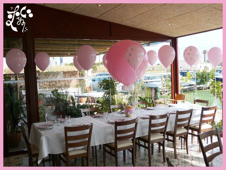 17 best eleyce bautizos images on pinterest valencia for Decoracion globos valencia