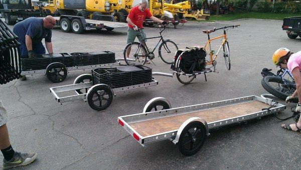Bike Trailer Cargo Bug Out Hunting Backpack