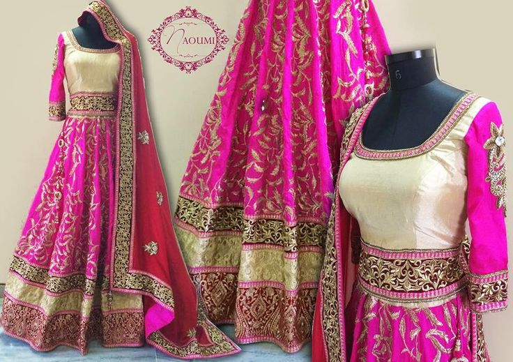 Bridal Lehenga by #Naoumi Follow naoumi.clothing on Facebook and Instagram