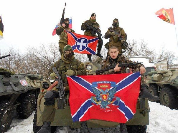 100%™ Serbian soldiers on the Protection of Novorossia