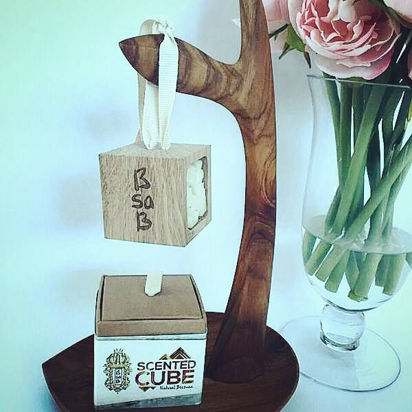 Introducing the BsaB scented cube. The oak cube uses natural beeswax infused with 100% pure essential oil which is excellent for breathing and relaxation. It can be hung in the car, placed in the closet or other small spaces. It can last 8 to 12 weeks. www.bsab.com.sg #bsab #bsabsg #scented #cube #luxury #essentialoil #singapore