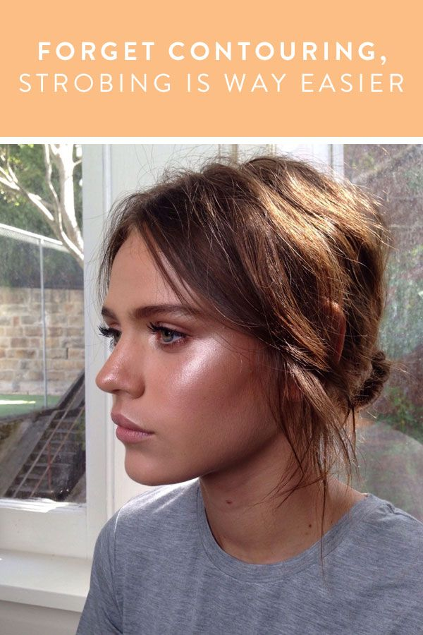 Forget Contouring, Strobing is Way Easier via @PureWow