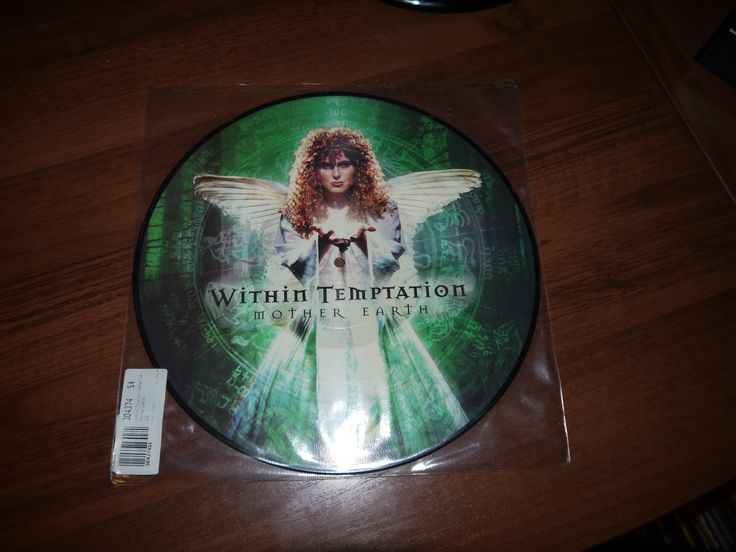 Within Temptation - Mother Earth (DSFA, 2001) (GREEN VINYL) (only 1000 unities worldwide)