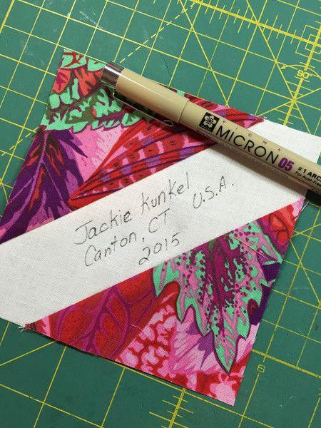 Canton Village Quilt Works | Help Me Make a Signature Quilt- Block tutorial!