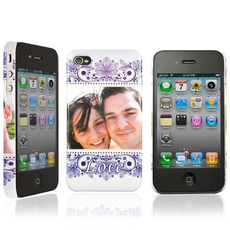 Phone case for iPhone 4 / 4S with your own design. £15.95