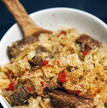 Χειμωνιάτικο, στιβαρό και πολύ νόστιμο φαγάκι, το οποίο μπορείτε να απολαύσετε και με κοτόπουλο ή χοιρινό