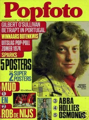 Noddy Holder #Slade #mag #Popfoto #70s