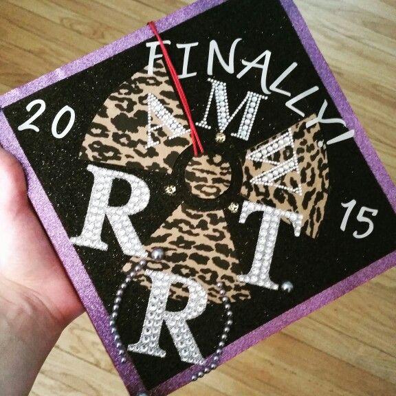 My graduation cap #radtech #graduate #college #xray #radiation