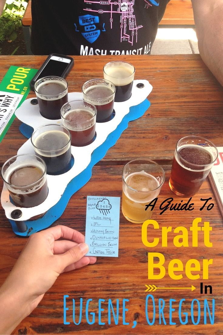 A Guide to Craft Beer in Eugene