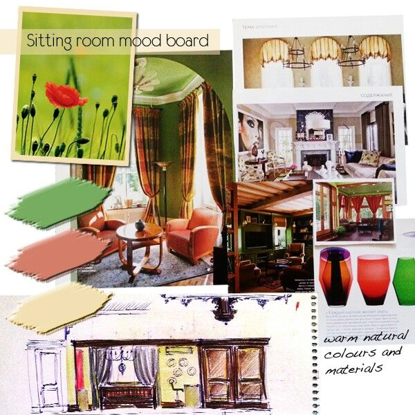 Lounge. Mood board