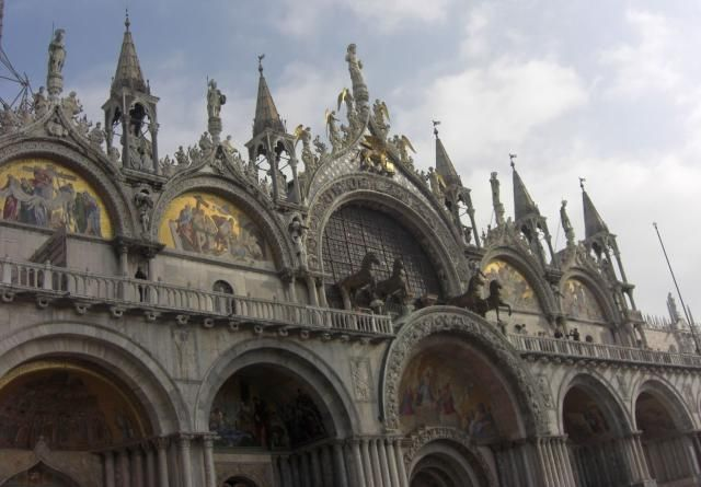 Find out what to see at Saint Mark's Basilica in Venice, including the ornamental exterior, Byzantine mosaics, art and artifacts, and the museum.