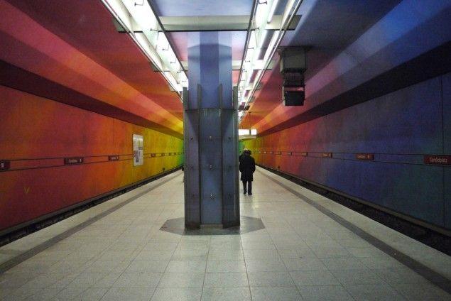 World Most Amazing Interior Design Of Subway Stations. The Munich subway system