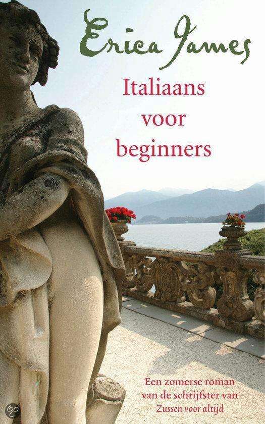 32/75 Gelezen juni 2015, vijf sterren van mij, een heerlijke roman!  (B) Italiaans  voor Beginners - Erica James:  Ten eerste al omdat ze lid zijn van een tuinclub en ze tuinen gaan bekijken in Engeland en Italië. Italië, wat mijn lievelingsland is. En ten tweede om de liefde.  Haar schrijfstijl lijkt veel op die van Meave Binchy (die ze zelfs even noemt) en van haar heb ik al zoveel boeken gelezen. Deze schrijfster is een aanrader dus en ik ga verder alles van haar lezen!