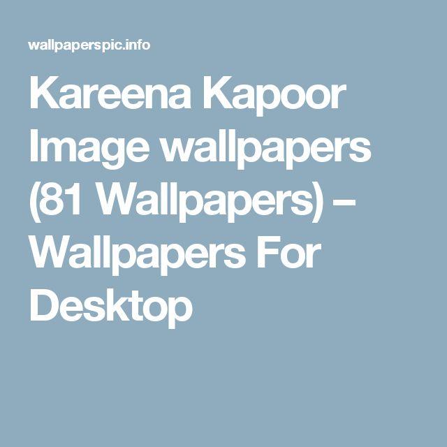 Kareena Kapoor Image wallpapers (81 Wallpapers) – Wallpapers For Desktop