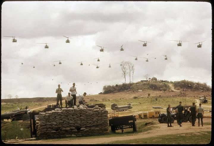 Birds in the air! #VietnamWarMemories