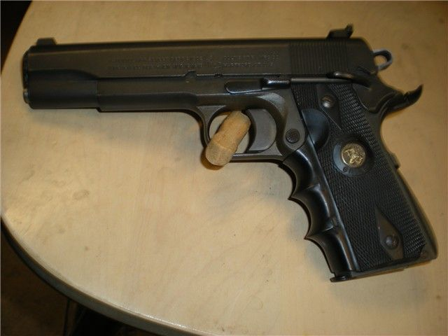 Colt Army 1911 parts gun on Essex frame - http://gunsforsalebuy.com/colt-army-1911-parts-gun-on-essex-frame.html