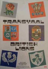 Transvaal v British Lions 1974 Rugby Programme 50c - 2014 in the UK R1418,16