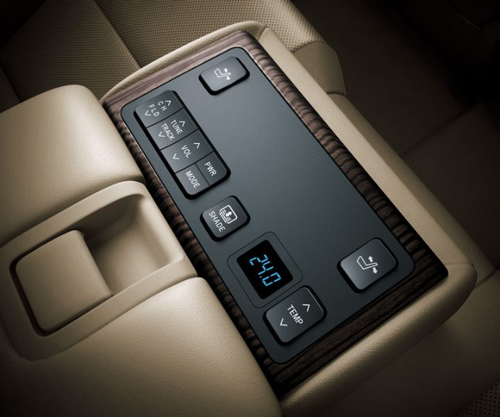 Toyota All New Camry type V - Control panel - The Future Sedan - Auto2000