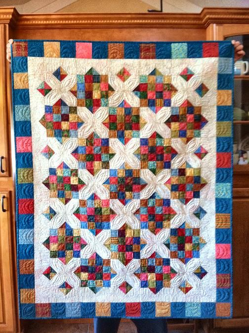 1000+ images about 2 inch square quilt on Pinterest Quilt, Postage stamp quilt and Lucky star