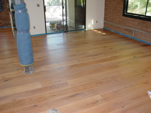Rubio Monocoat oil finish in 5% oak - I think this is the finish I'd like for our future white oak floors. Hoping we can do the oiling ourselves!