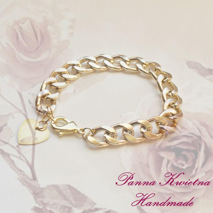 Bransoleta coeur d'or.