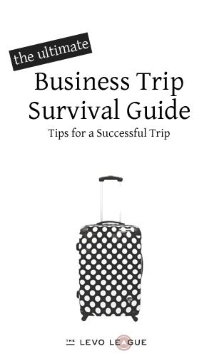 When Duty Calls: Tips for a Successful Business Trip ~ Levo League