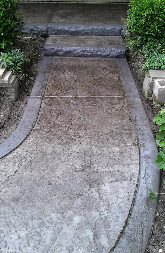 17 best images about concrete services on pinterest - Stamped concrete walkway ideas ...