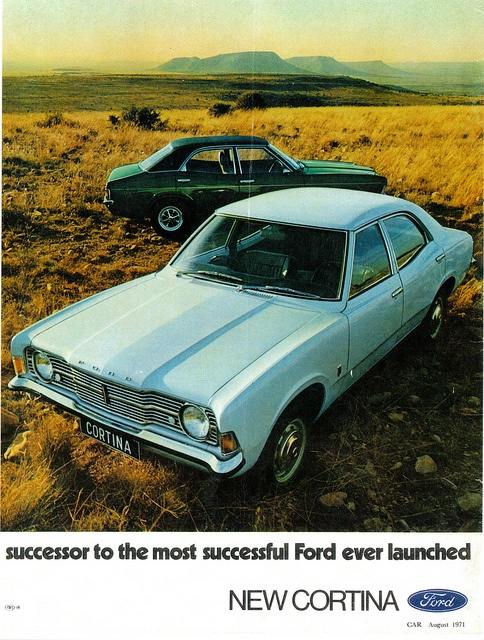 1971 Ford Cortina (South Africa) by IFHP97, via Flickr