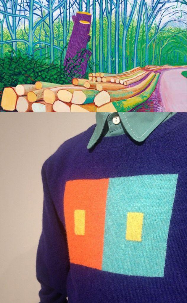 QuisQuis Aw14 David Hockney, Landscape #angworld