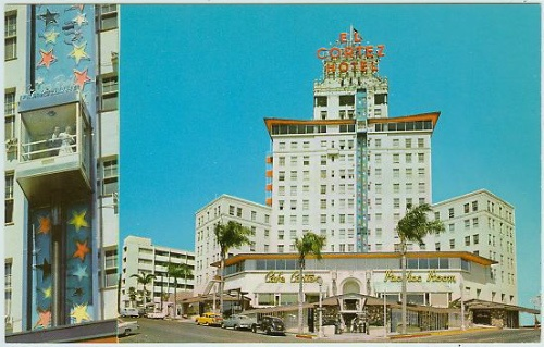 The El Cortez In San Diego Circa 1960 When I Was There