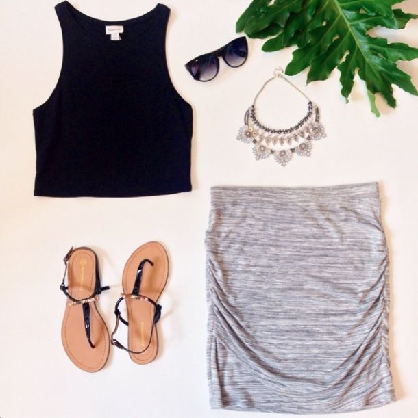 Perfect outfit to stay chic in the heat!