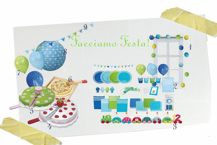 Festa! Moodboard di Design Therapy