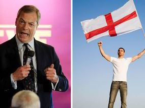 UKIP have called for St George's Day to become a bank holiday, as the party urges Britons not to fear slurs of racism if they display their English pride.
