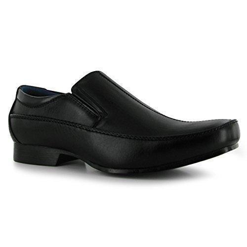 Oferta: 17.99€. Comprar Ofertas de Giorgio - Mocasines de Material Sintético para hombre, color Negro, talla 48 barato. ¡Mira las ofertas!