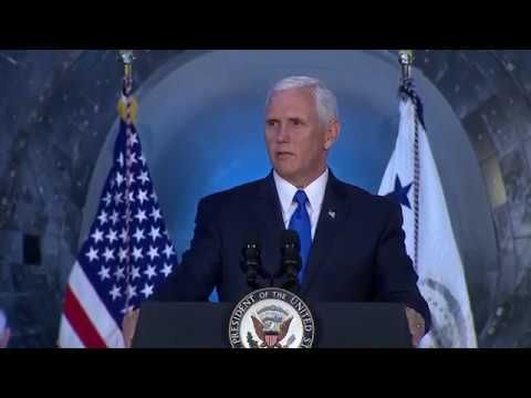 Vice President Pence Calls for Human Missions to Moon, Mars at National ...