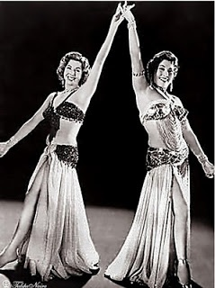 Tahia Carioca and Samia Gamal