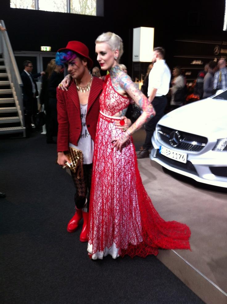 Lexy Hell @ Mercedes-Benz Fashion Week