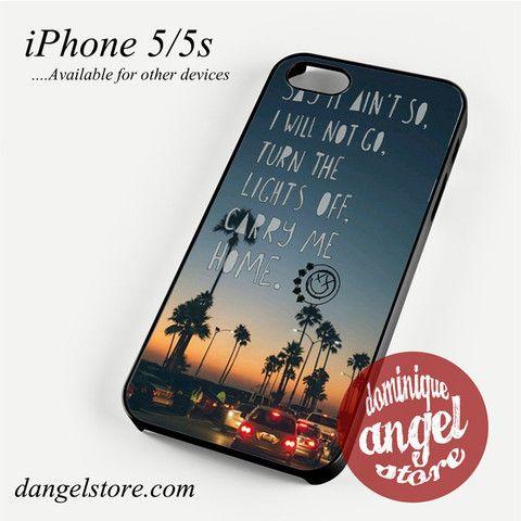 Blink 182 Lyrics Phone case for iPhone 4/4s/5/5c/5s/6/6 plus