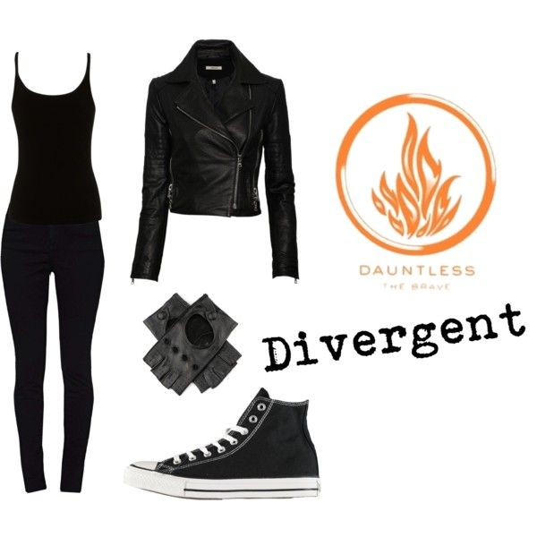 Divergent | Dauntless Clothes | Black - Polyvore