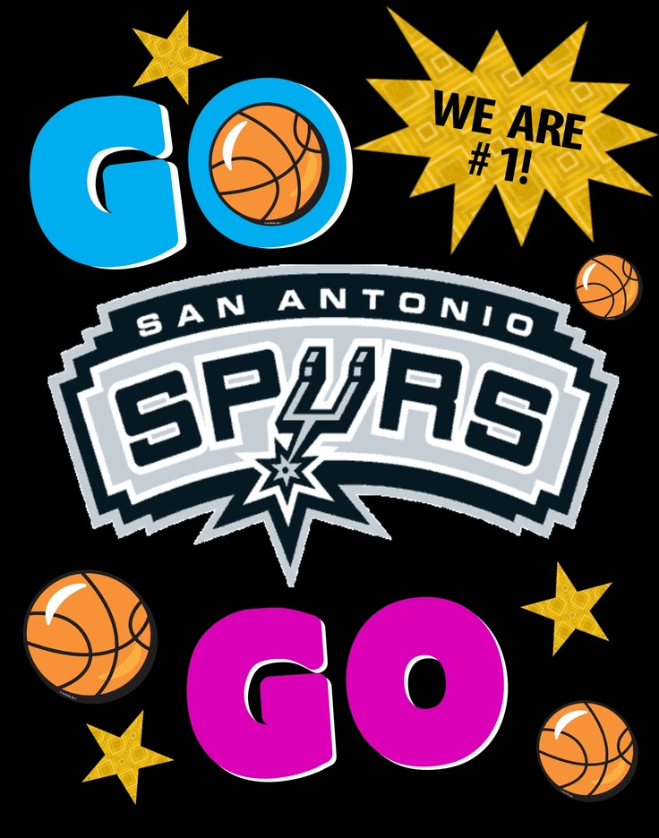 San Antonio Spurs Poster Idea