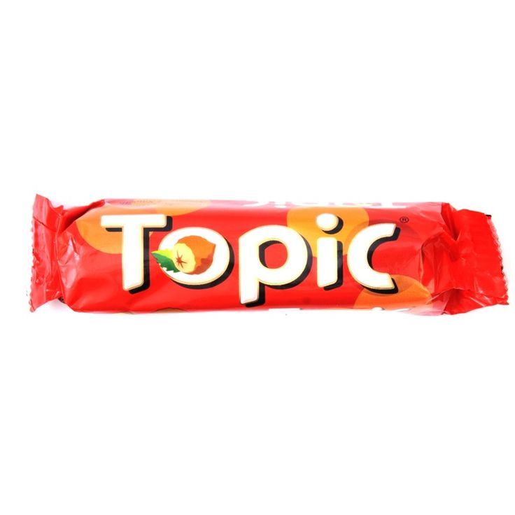 Topic Bars Are Chocolate Bars Which Contain Hazelnuts