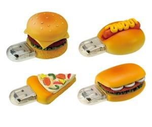 ファーストフード型USBメモリー。